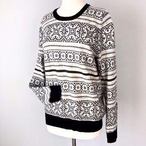 J. Crew | Cashmere Wool Blend Crew Sweater